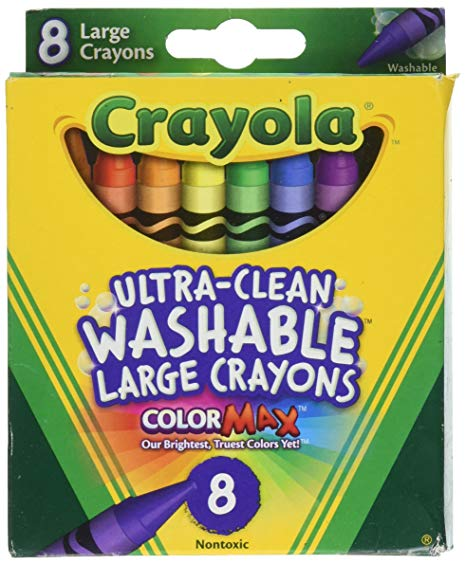 Jumbo Crayons for Leaf Rubbing