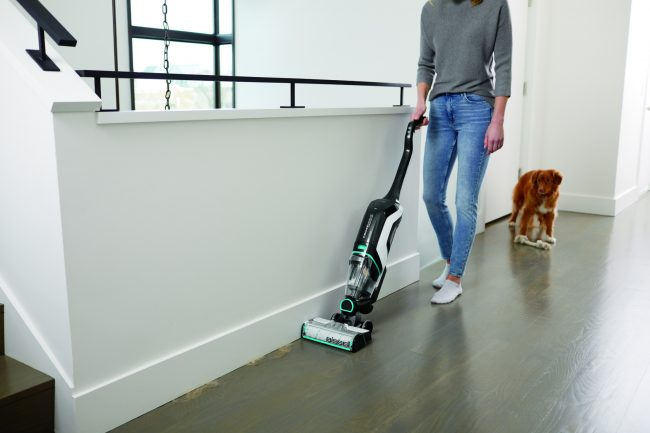 Vacuum and wash your floors at the same time with the cordless freedom of the BISSELL CrossWave Cordless Max Floor and Carpet Cleaner.