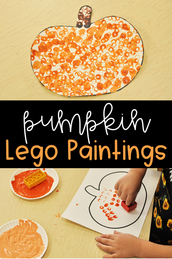 Lego-Painted Pumpkins