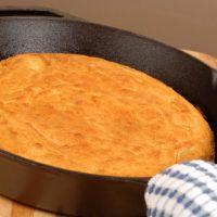 Cast Iron Skillet Cornbread Recipe