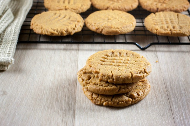 These super soft peanut butter cookies are easy to make, full of peanut butter flavor, the perfect chewiness, and irresistibly good!