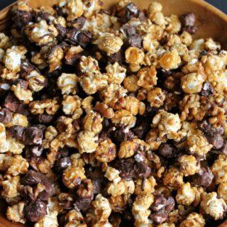 Rocky Road Popcorn Clusters