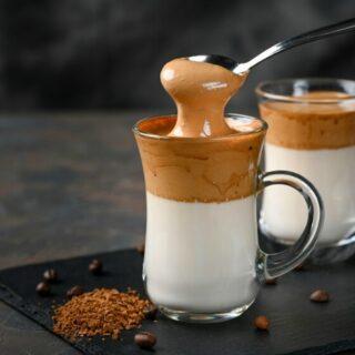 Dalgona Whipped Coffee