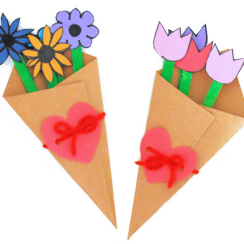 Flower Bouquet Paper Craft