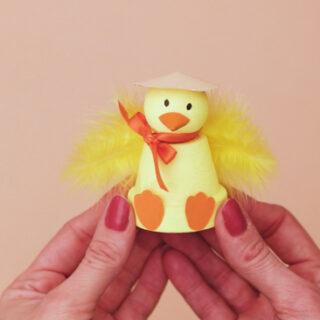Easter Chick Terra Cotta Pot Craft