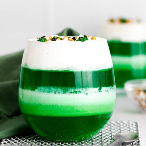 St. Patrick's Day Jello Cups